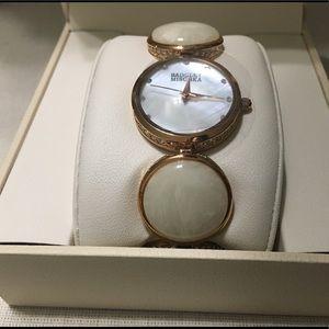 Badgley Mischka Swarovski Crystal Stone Bracelet